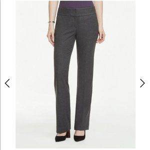 Ann Taylor Signature Grey Charcoal Trousers 8P